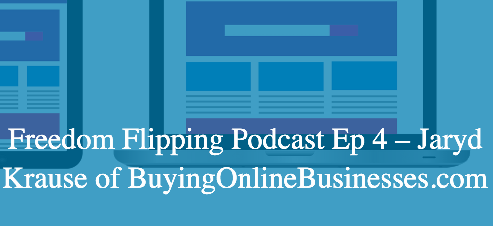 My Website Flipping Podcast Interview